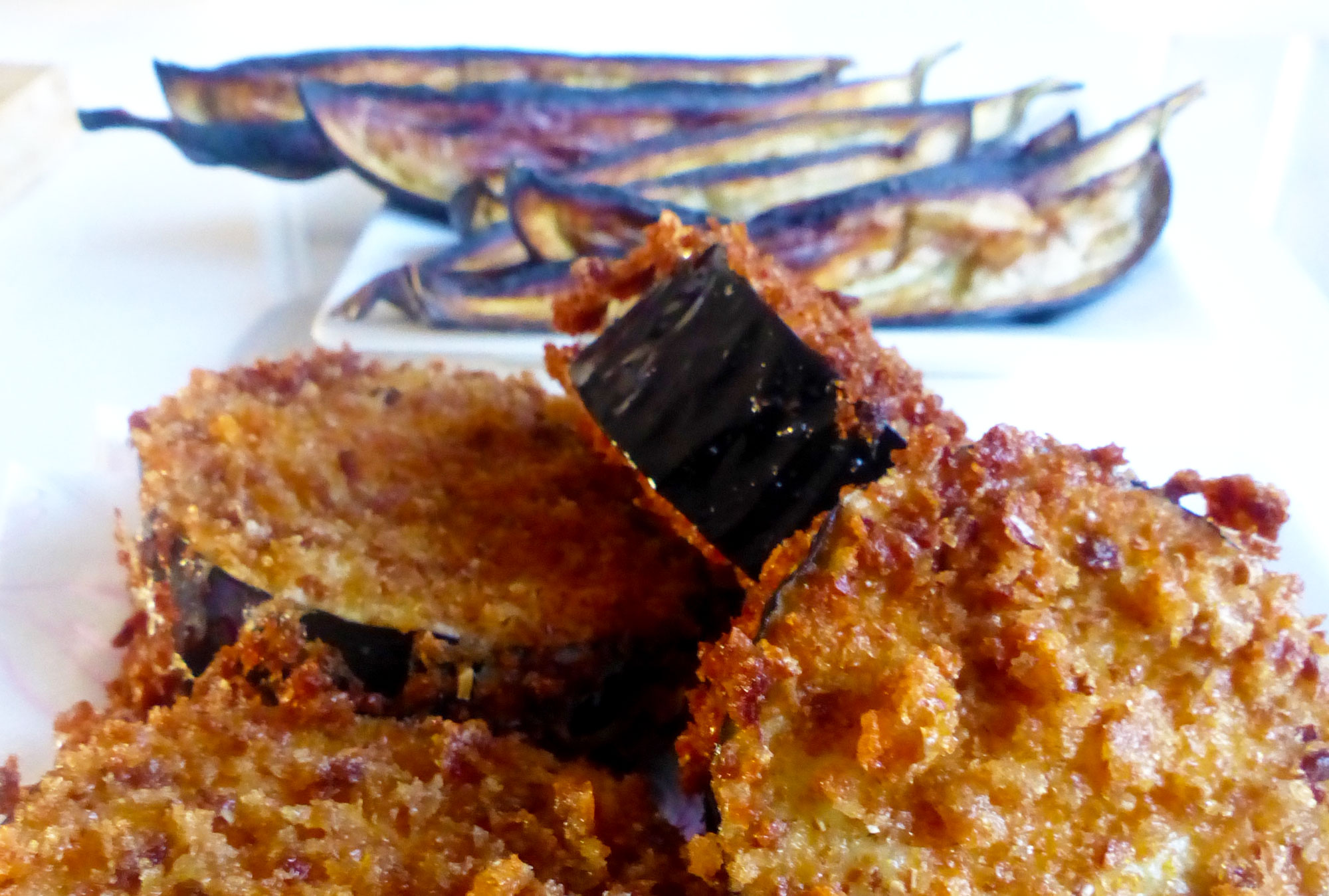 Alles is aubergine (recept)