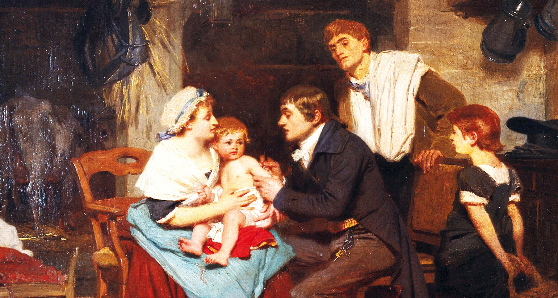 Een historisch perspectief op vaccinatie